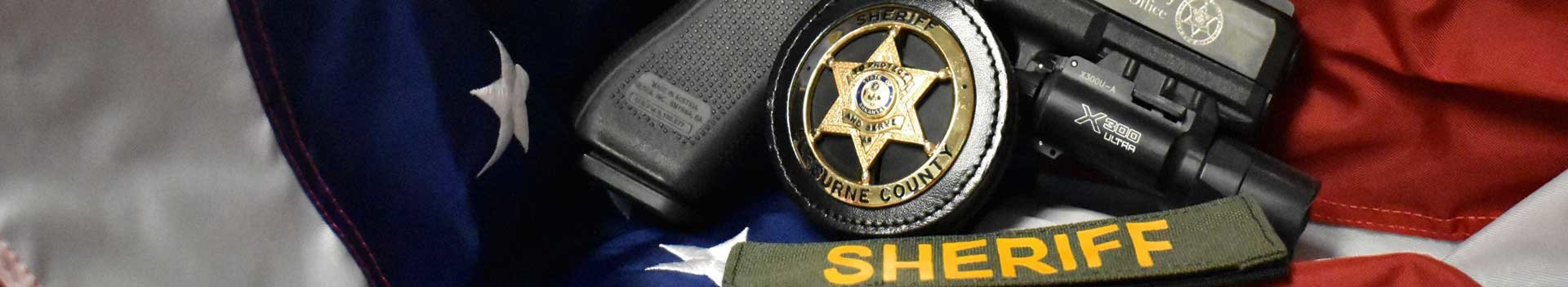 Sheriff Gun and Badge
