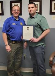 Detective receives Letter of Commendation from local PD