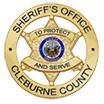Cleburne County Sheriff's Office Logo